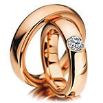 Vörös arany karikagyűrű