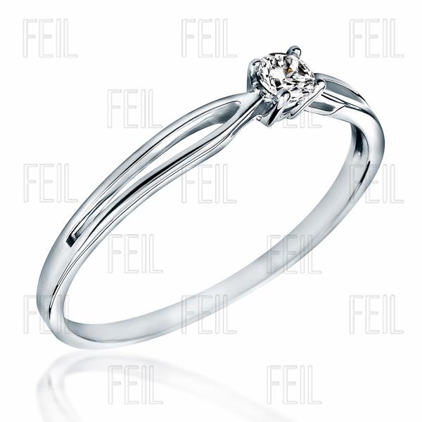 FEIL arany eljegyzési gyűrű WEFAu-140-SW